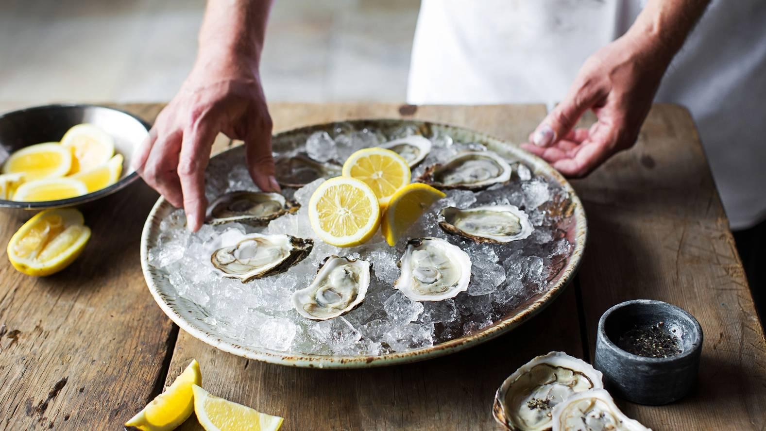 Franse oesters Qualimer